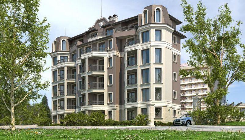 Жилой дом район Ален Мак, город Варна: Фото большого размера - изображение 2